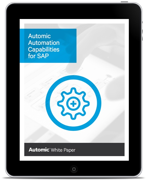 Automic Automation Capabilities for SAP