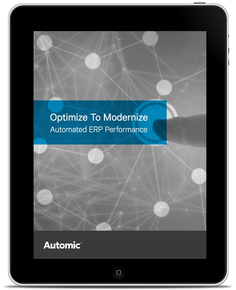Automated ERP Performance - SAP & Oracle